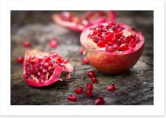 Pomegranate delight Art Print 61040220