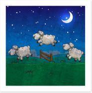 Animal Friends Art Print 61193470