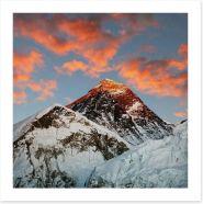 Evening at Everest