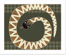 Aboriginal Art Art Print 61647695