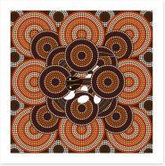 Aboriginal Art Art Print 61664769