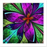Purple fractal