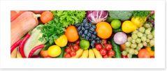 Perfect produce Art Print 62326928