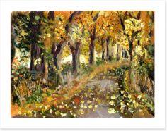 The Autumn path Art Print 62474539