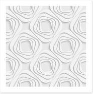 White on White Art Print 63188530