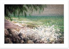 Sea spray Art Print 63428442