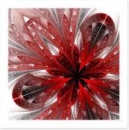 Shiny red fractal