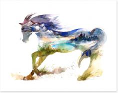Travelling horse
