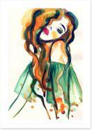 Auburn beauty Art Print 67255272