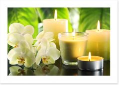 Heaven scent Art Print 68018793