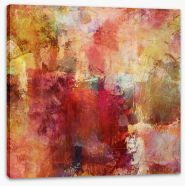 Autumnal abstract Stretched Canvas 68367743