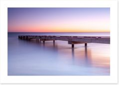 Jetty in the dawn