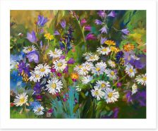 Spring flowers Art Print 69121153