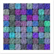 Mosaic Art Print 69302199