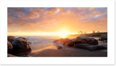 Heavenly dusk Art Print 69429310