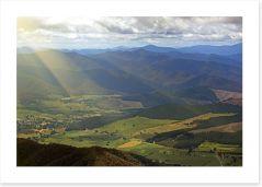 Mountains Art Print 72982934