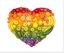 A healthy heart Art Print 73421875
