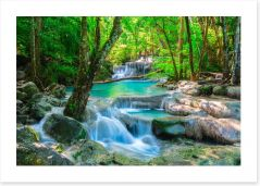 Waterfalls Art Print 73875847