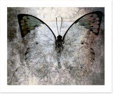 Vintage monarch butterfly Art Print 73878760