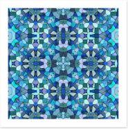 Mosaic Art Print 75333980