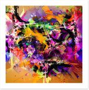 Matrix of mayhem Art Print 75345261
