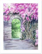 Watercolour Art Print 75740132