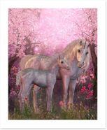 Unicorns under the blossom