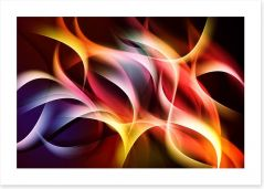 The fire within Art Print 77910061