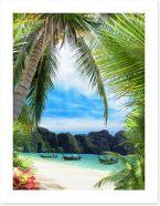Beaches Art Print 78641336