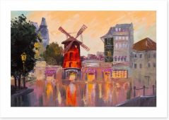 The Moulin Rouge Art Print 79670064