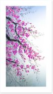 Branches of blossom Art Print 80506709