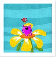 Animal Friends Art Print 81092602