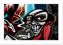 Graffiti/Urban Art Print 81216006
