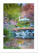 Garden of zen Art Print 83424899