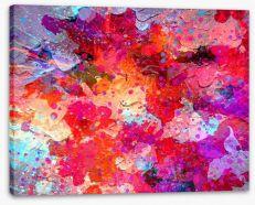 Bursting Stretched Canvas 84368774