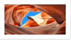 Antelope slot canyon Art Print 85239334