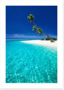 The blue lagoon Art Print 85978823