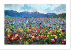 Flowers forever Art Print 87652725