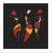 African Art Art Print 87936341