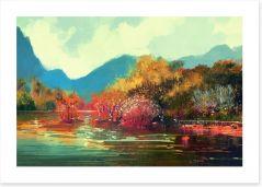 Autumn Art Print 87959748