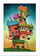 Magical Kingdoms Art Print 88277117