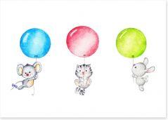 Balloons Art Print 89135677