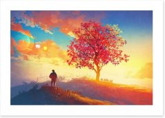 Coming home Art Print 90769591