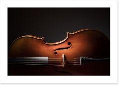 Cello silhouette Art Print 91569184