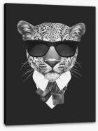 Suave leopard Stretched Canvas 91584838