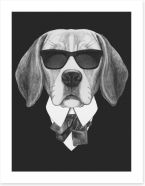 Suave beagle
