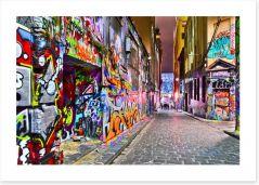 Hosier Lane urban art