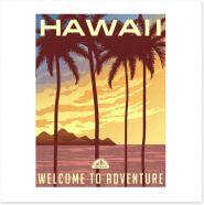 Retro Hawaii
