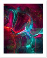 Dynamic mayhem Art Print 92868840