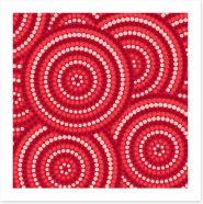 Aboriginal Art Art Print 92924880